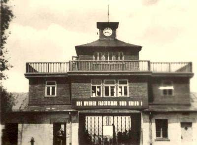 Pics For > Buchenwald Concentration Camp Entrance