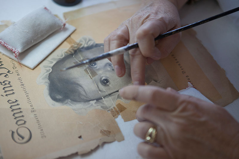 Conservation of original Holocaust-era documentation