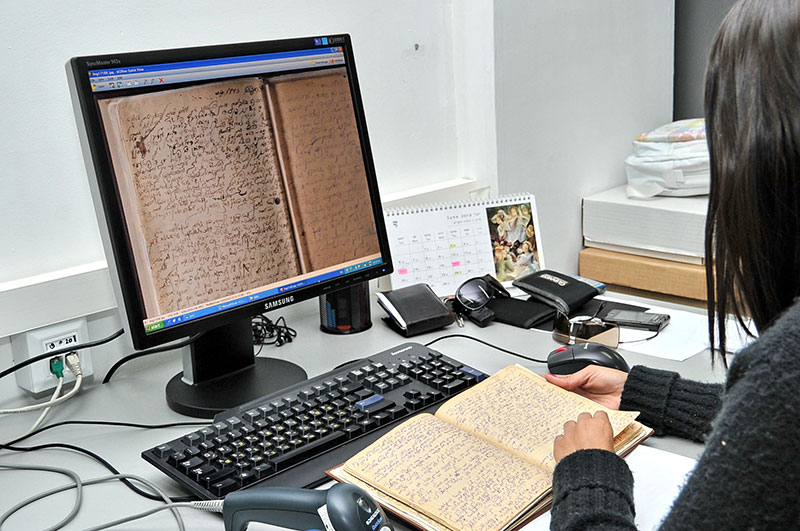 Digitization of archival documents