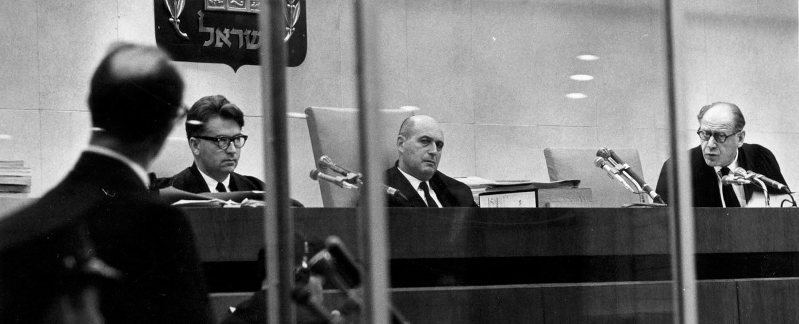 Photo Gallery - Eichmann Trial