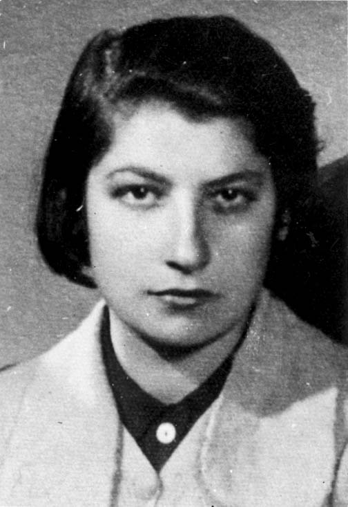 Poland, Zivia Lubetkin, one of the leaders of the Warsaw Ghetto Uprising