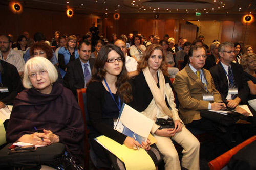 Opening Session of the Seventh International Conference on Holocaust Education, June 12-13, 2010