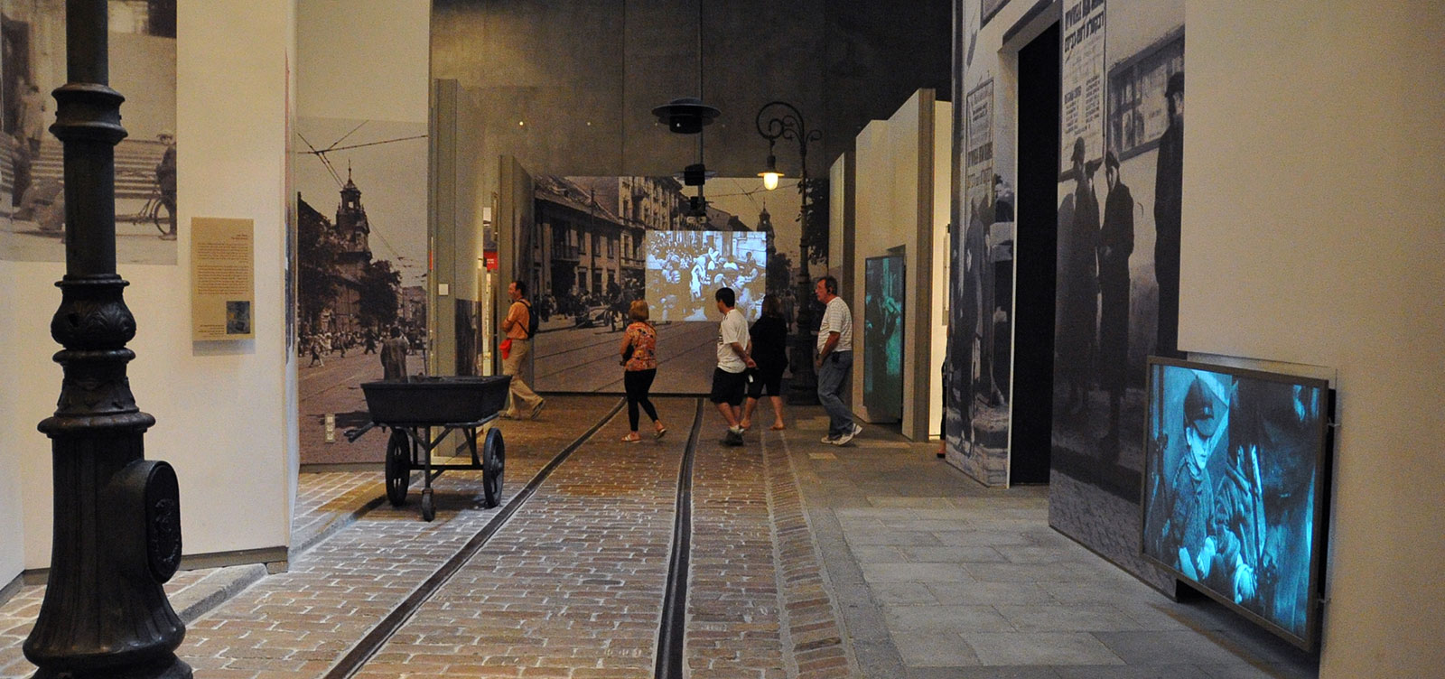 The Galleries of the Holocaust History Museum