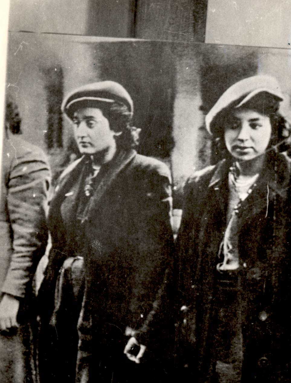 Female fighters in the Warsaw Ghetto