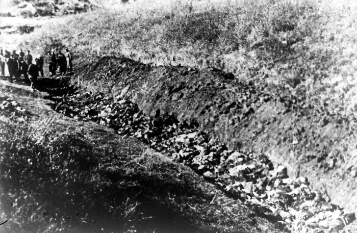 Babi Yar, Ukraine, The site of a mass murder of Jews, September 1941