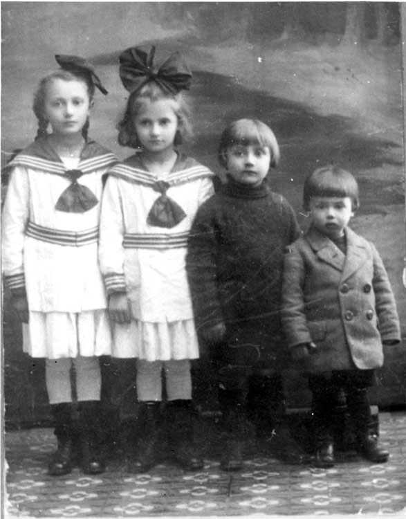 The Children of The Vilner Family, Warsaw, Poland, Pre-War