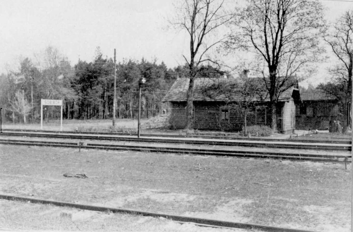 Sobibor Extermination Camp, Poland, The train station