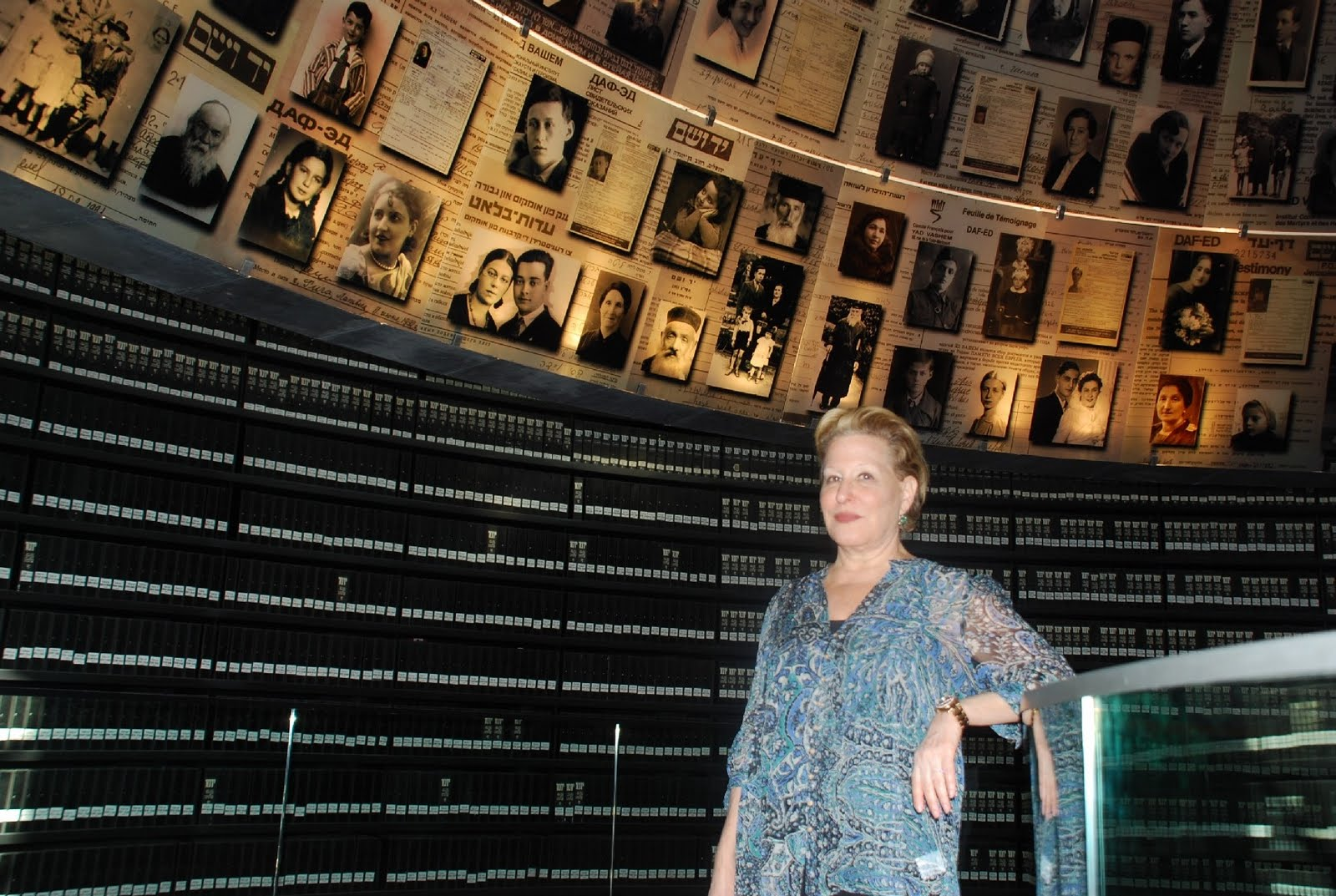 Bette Midler at Yad Vashem