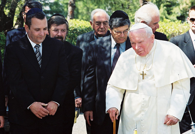 Visit of Pope John Paul II, 23/03/2000