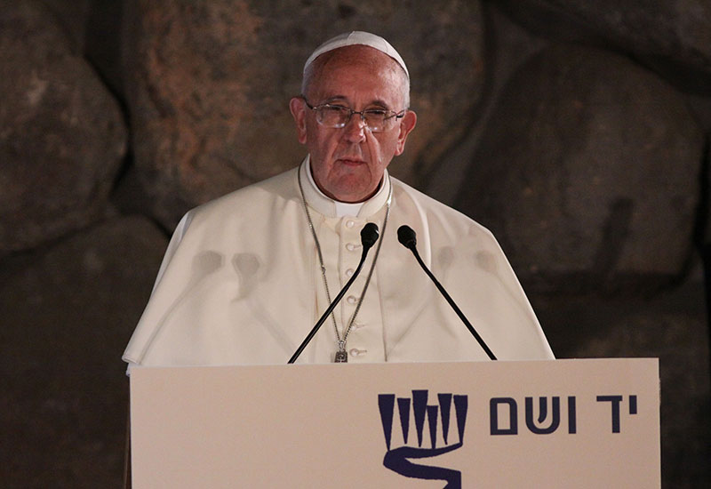 Address of Pope Francis at Yad Vashem