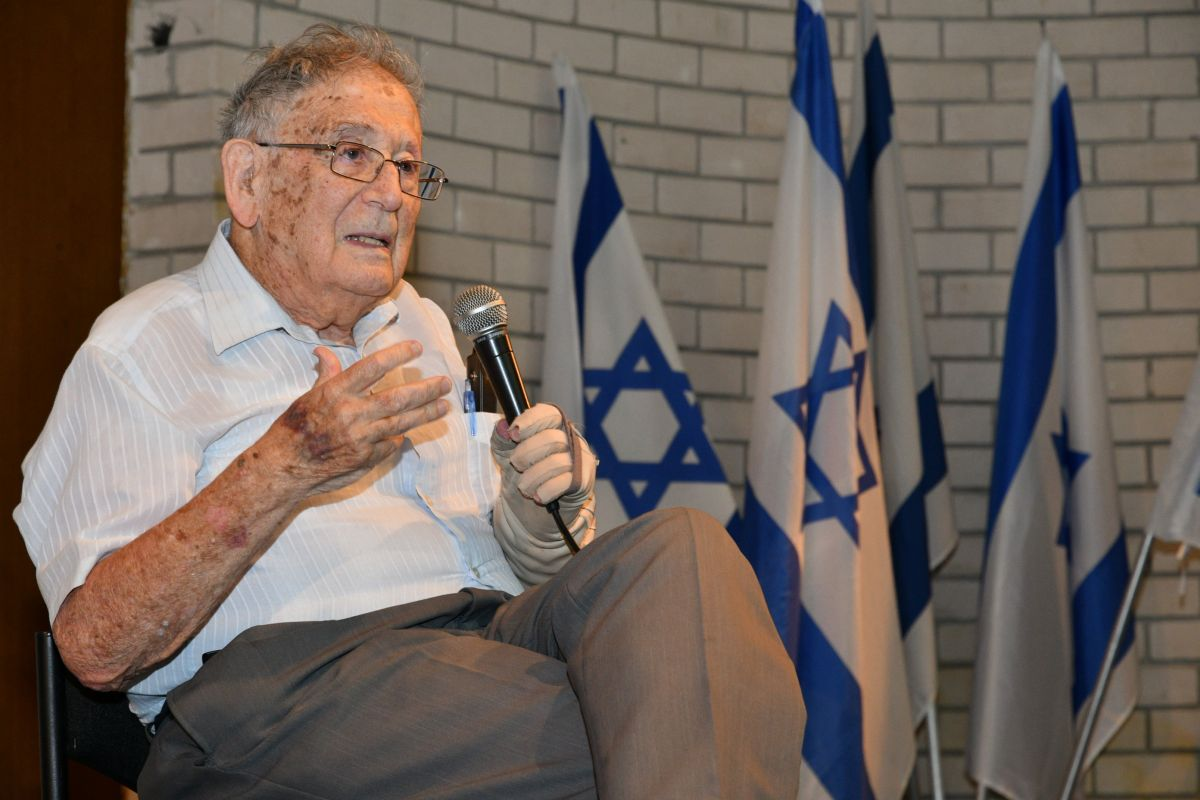 "Professor Yehuda Bauer speaks about ""Not Denial, but Distortion of the Holocaust"""