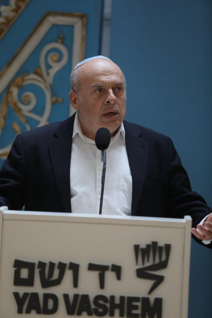 Natan Sharansky speaking at the Groundbreaking Ceremony for the Shoah Heritage Campus