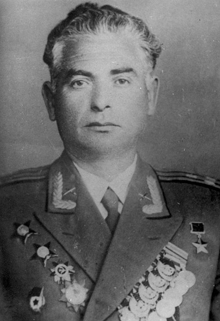 Nokhem (Nikolai) Brozgol, after World War II