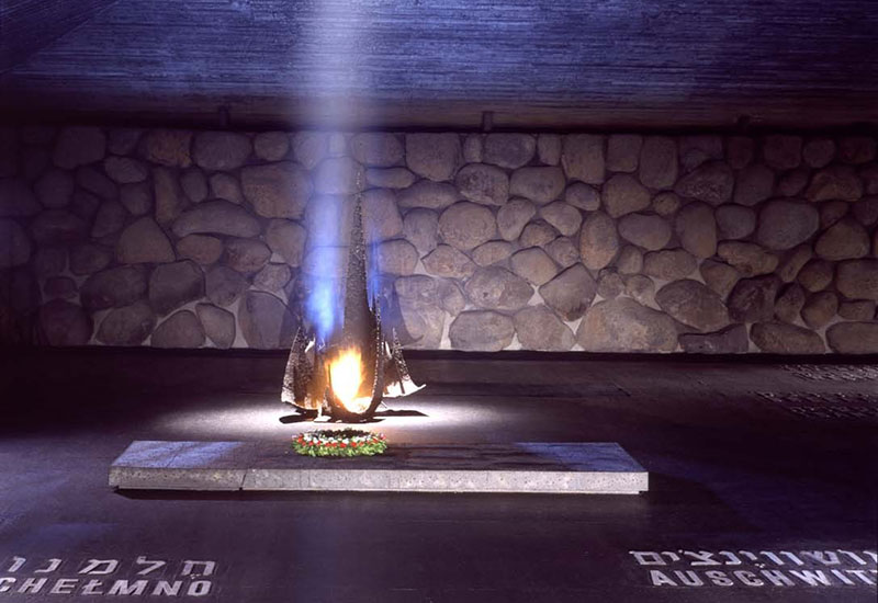 Eternal Flame in the Hall of Remembrance