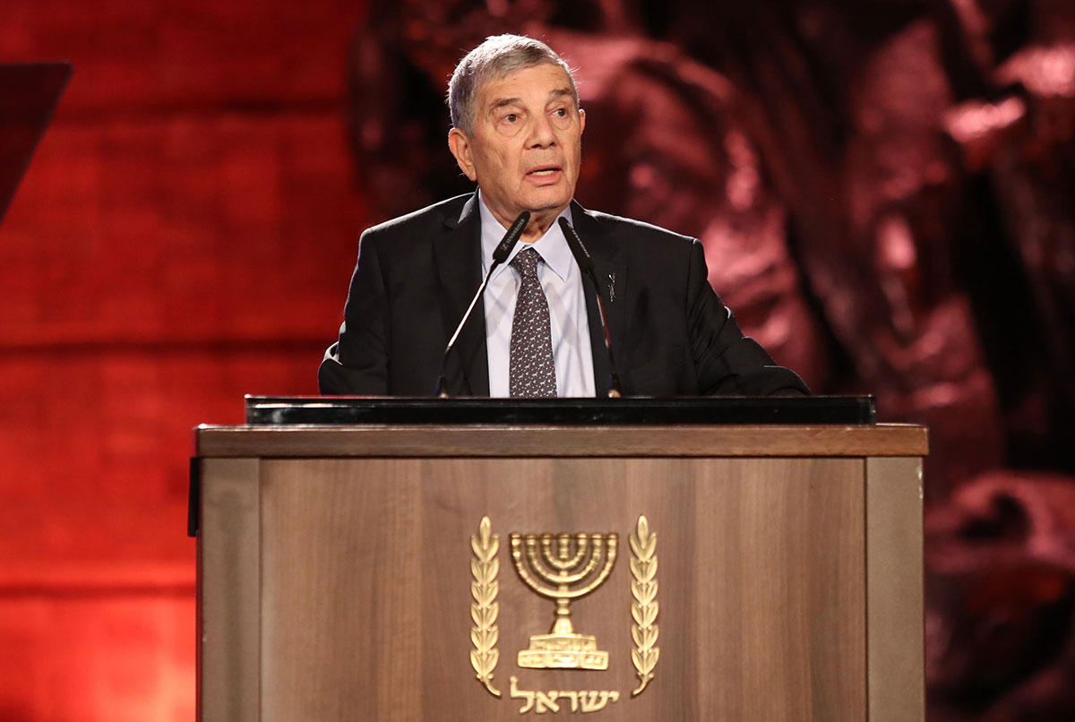 Yad Vashem Chairman Avner Shalev called upon the esteemed leaders to unite in remembering the Holocaust and to fight antisemitism and racism in order to ensure a better future for coming generations