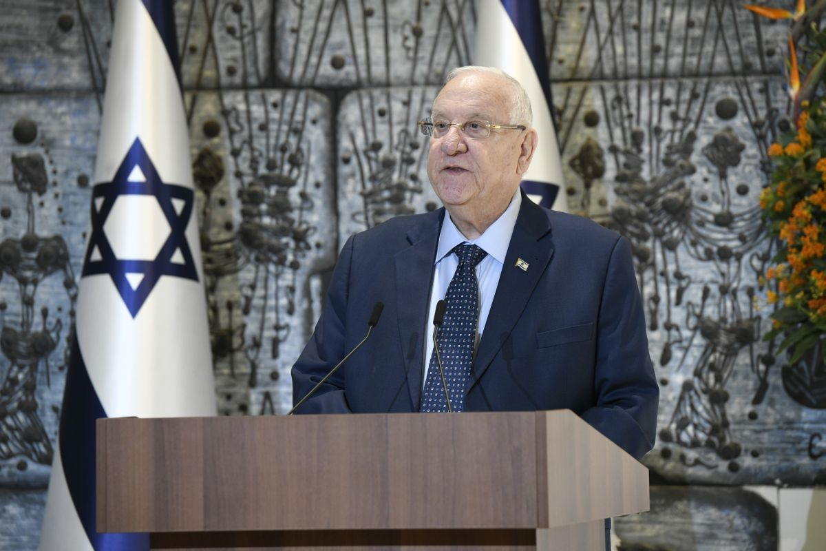 President Reuven (Ruvi) Rivlin officially launching the lead-up to the Fifth World Holocaust Forum scheduled to talk place on 23 January 2020 at Yad Vashem