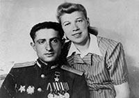 Vulf Vilenskii with his wife Sonia