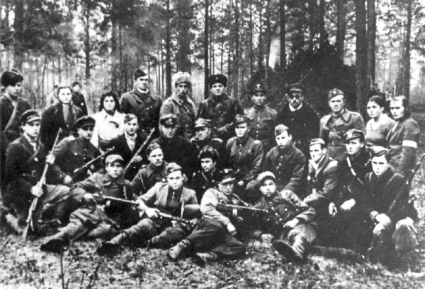 Yugoslavia, Jewish Partisans in the Forest, Archival Number 85F04