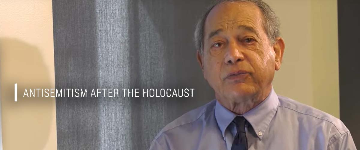 Prof. Alvin Rosenfeld explores what happened to antisemitism after the Holocaust.