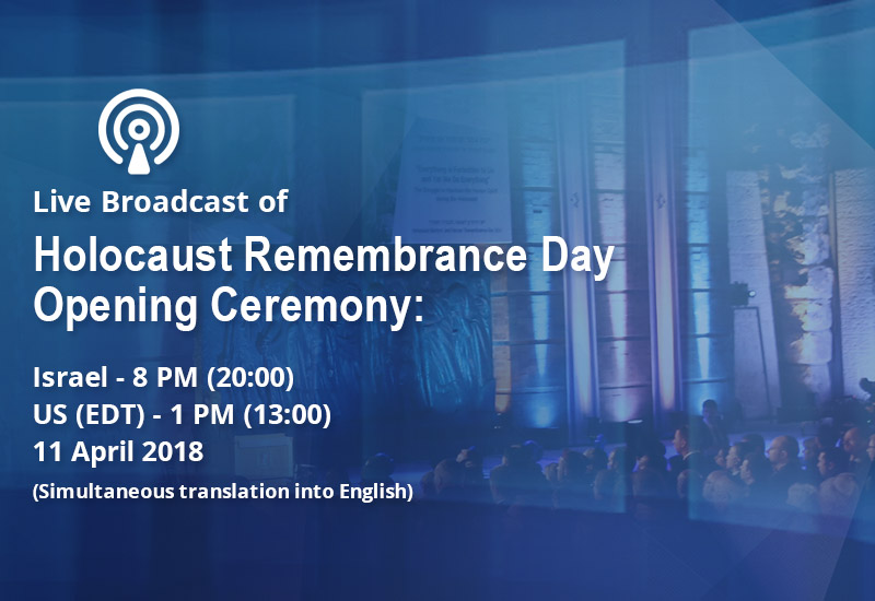 Broadcast of Ceremony