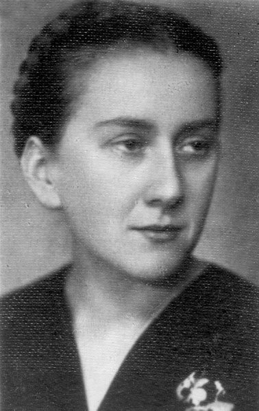 Leah-Lonka Kozibrodska (with the generosity of the Ghetto Fighters' Photo Archive)