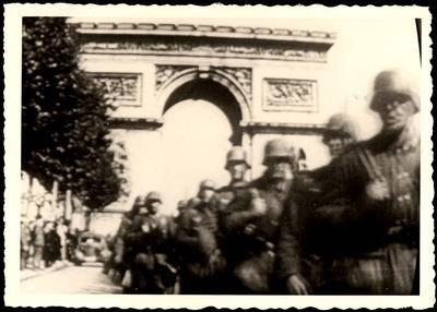 The occupation of France, May 1940