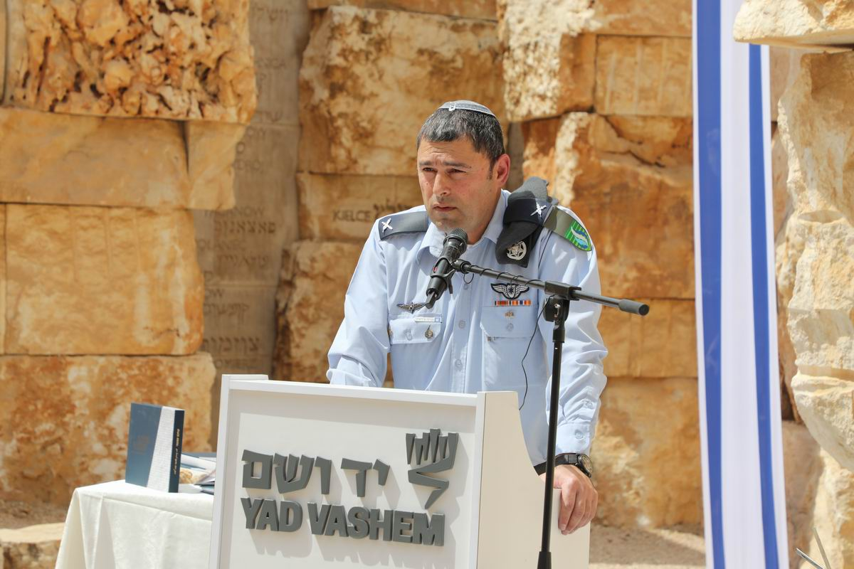 IDF Chief Education Officer Brig. Gen. Yehuda (Zvika) Fairaizen