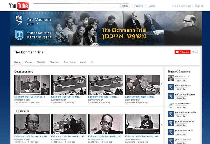 The Eichmann Trial Channel