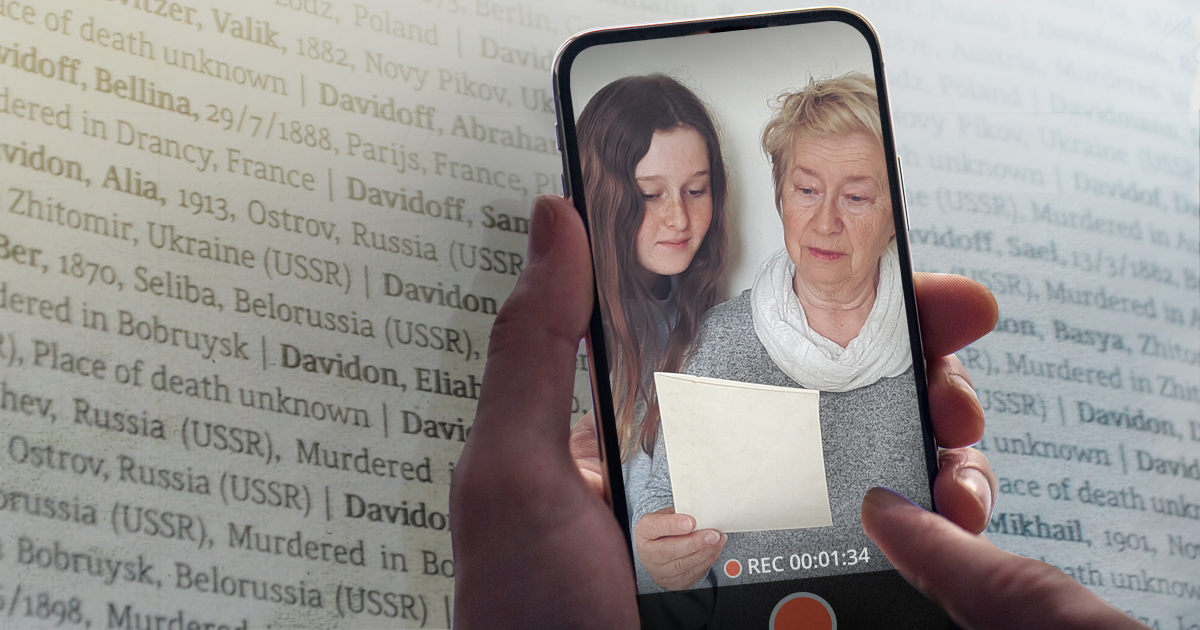 Worldwide Name-Reading Campaign to Mark Holocaust Remembrance Day 2020