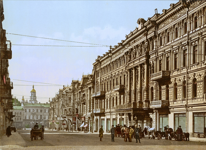 Kiev in the late 19th century