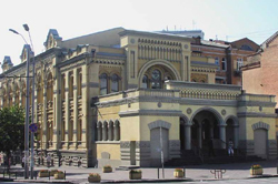 The Brodsky Choral Synagogue in Kiev, built in 1897-1898. Author: Fedotto.