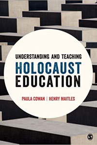 <p><em>Understanding and Teaching Holocaust Education</em>&nbsp;-&nbsp;Paula Cowan and Henry Maitles</p>
