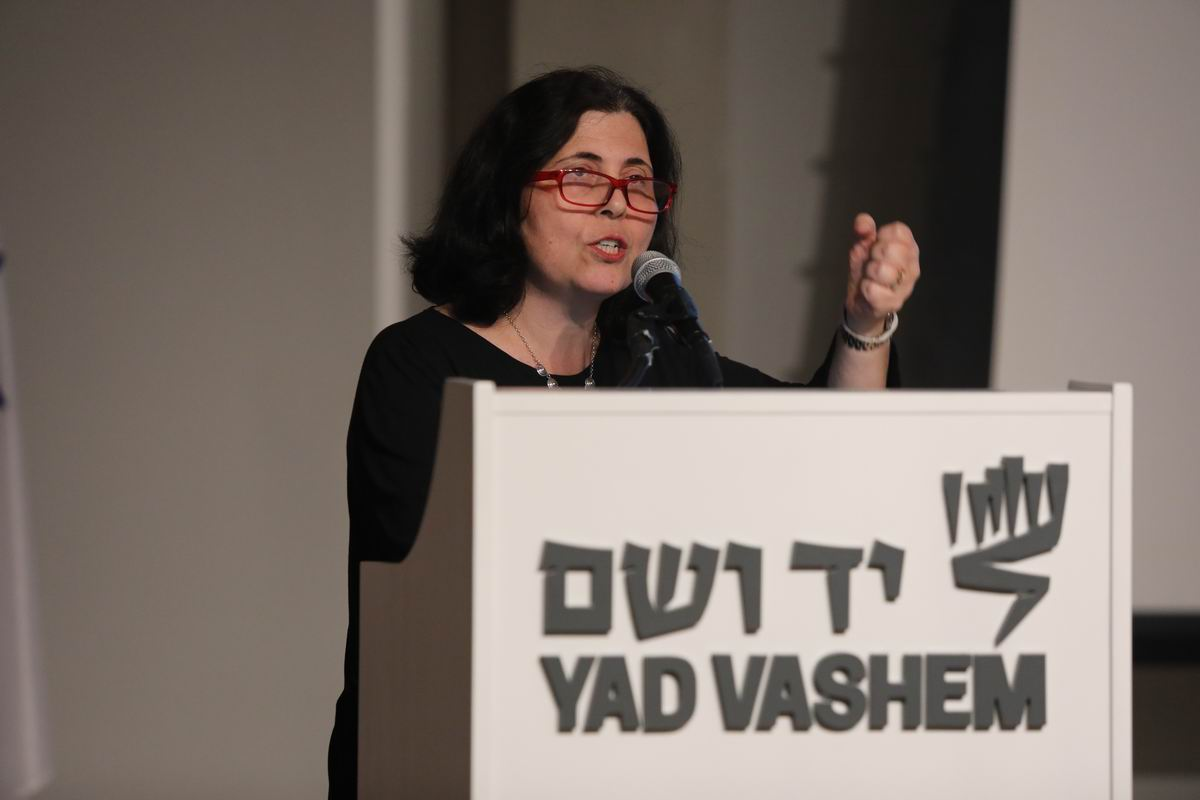 International Research Institute Director Dr. Iael Nidam-Orvieto highlighted the dilemmas faced by Jewish rescuers during the Shoah