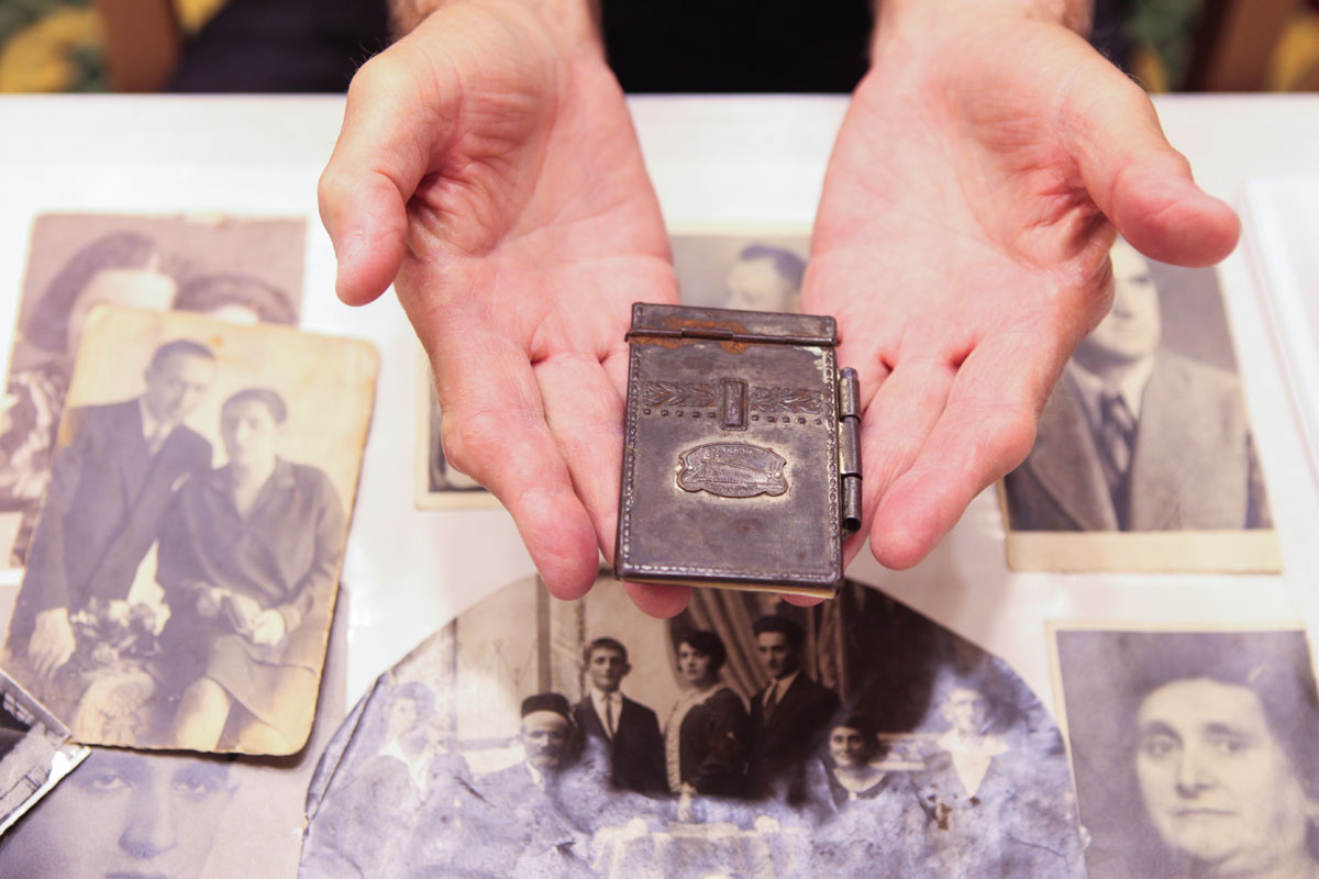 Personal Holocaust-era items donated to Yad Vashem for safekeeping