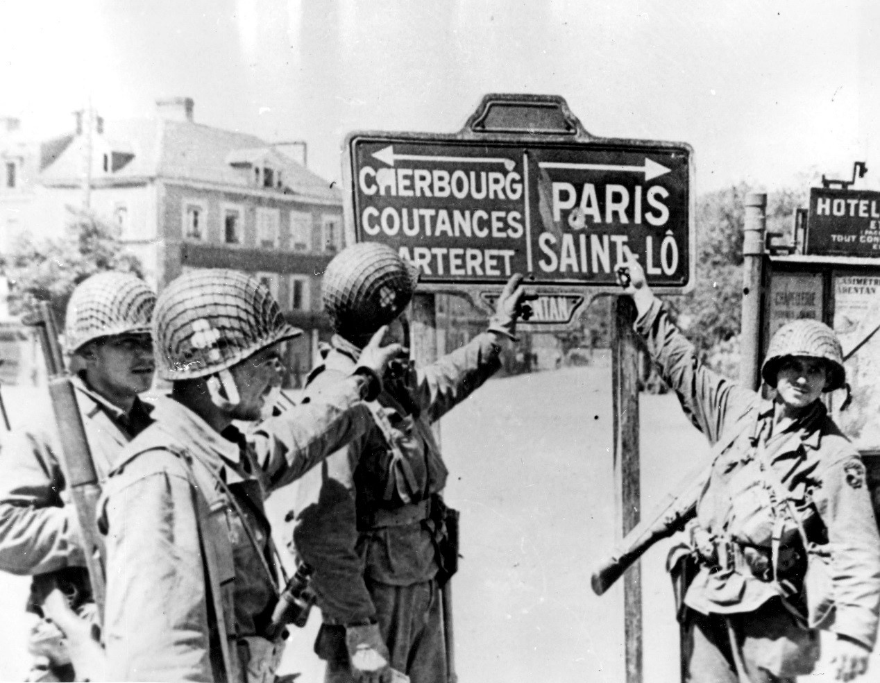 The liberation of Paris by the Allies, 1944