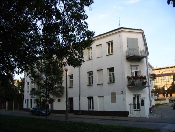 The house at 7 Planty Street in Kielce