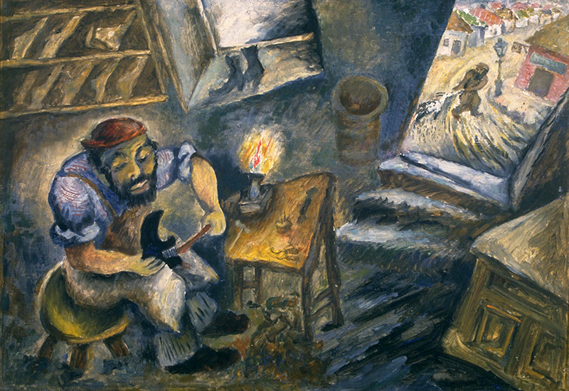 Representation of the Shtetl in Jewish Art: Between Reality and Fantasy