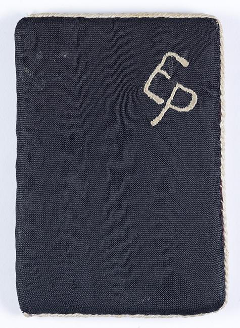 Wallet presented to Yehudah Rubashevsky, a soldier in the Red Army who was among the liberators of Auschwitz