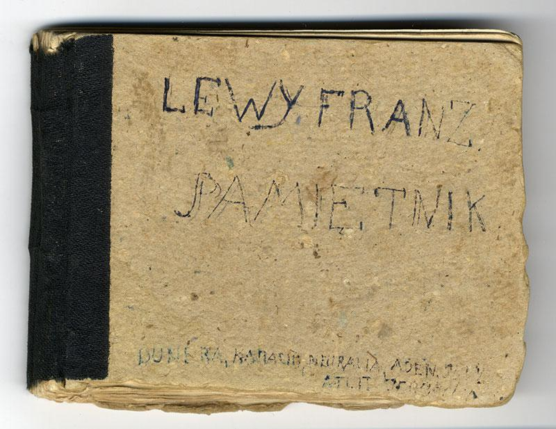 The travel diary inscribed by the companions of Yitzhak-Frantisek Levi