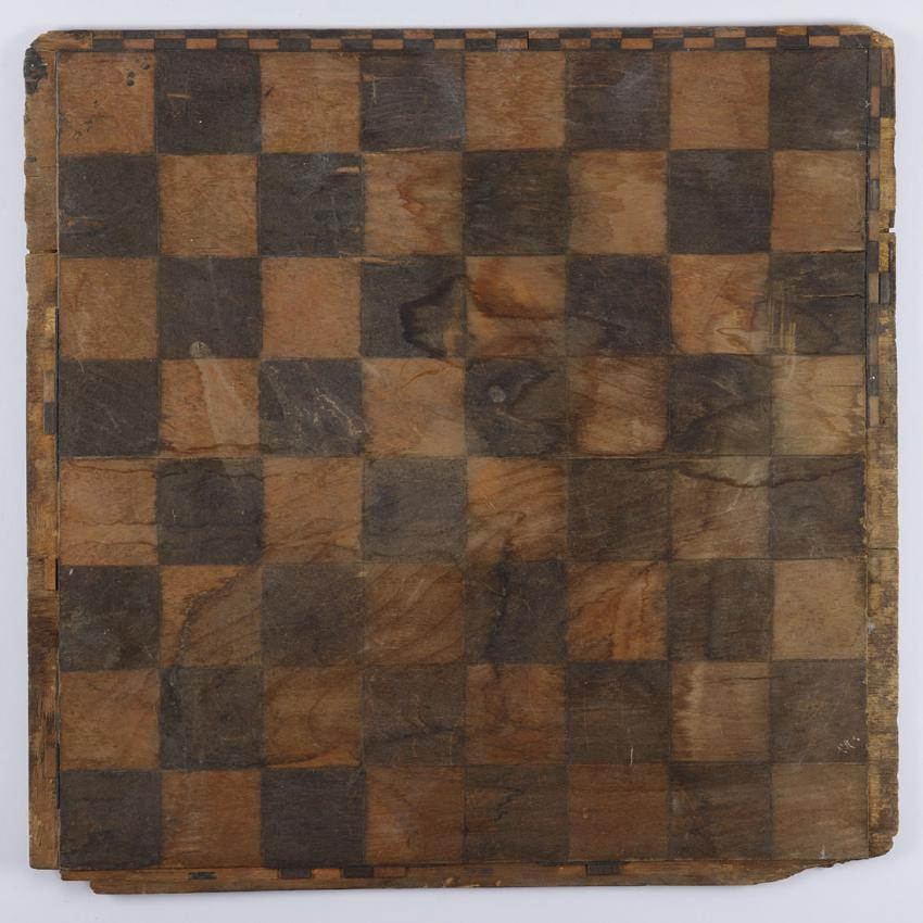 Chess board used by the youth Issachar Parkiet and his family in their hideout