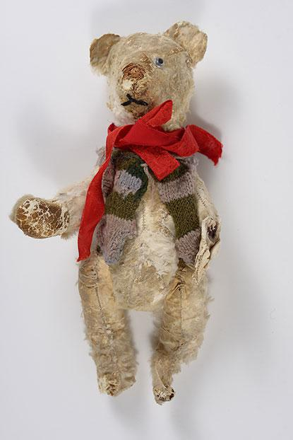 Teddy-bear that Stella Knobel took with her when her family fled Krakow