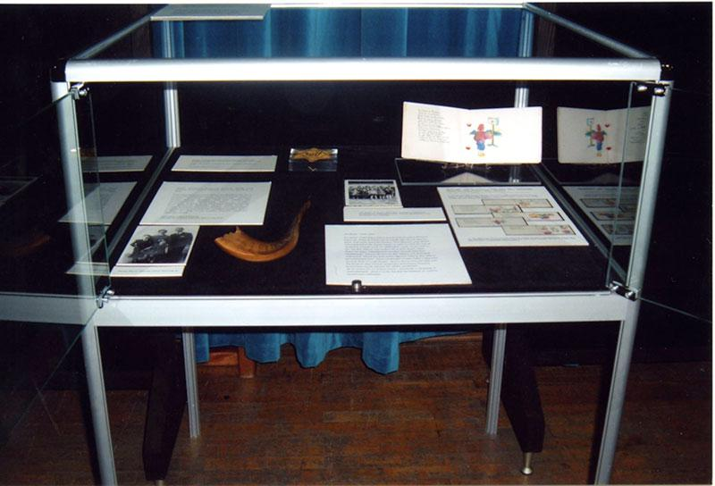 Artifacts from the Museum's Artifacts Collection on loan to a display in Istanbul, Turkey, Holocaust Remembrance Day, 2006