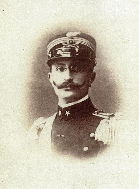 Dario Lovvy, in a photo preserved by his relative, Gigliola Columbo Lopez