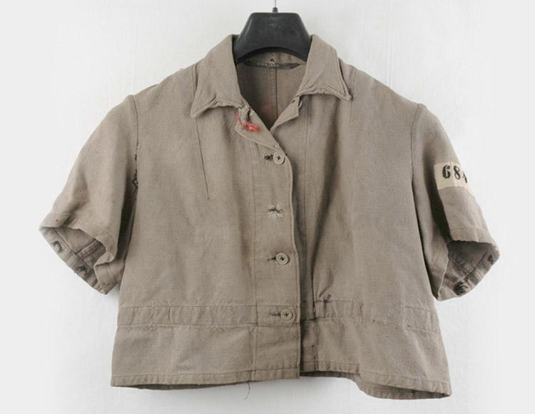 Blouse Helen Ryba received in a forced labor camp