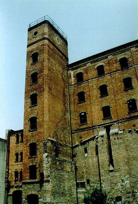 """The abandoned factory that served as the concentration camp """"La Risiere di San Sabba"""", Trieste, Italy"""