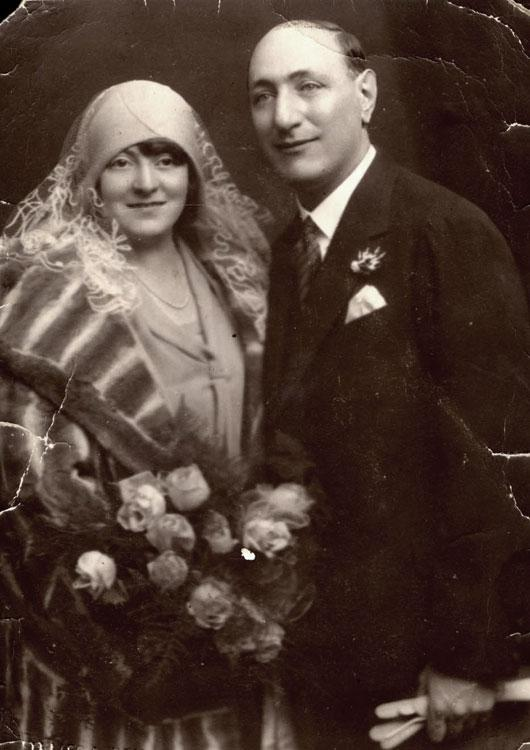 Wedding of Fritz and Charlotte Fuerst, Vienna, Austria, November 14, 1929