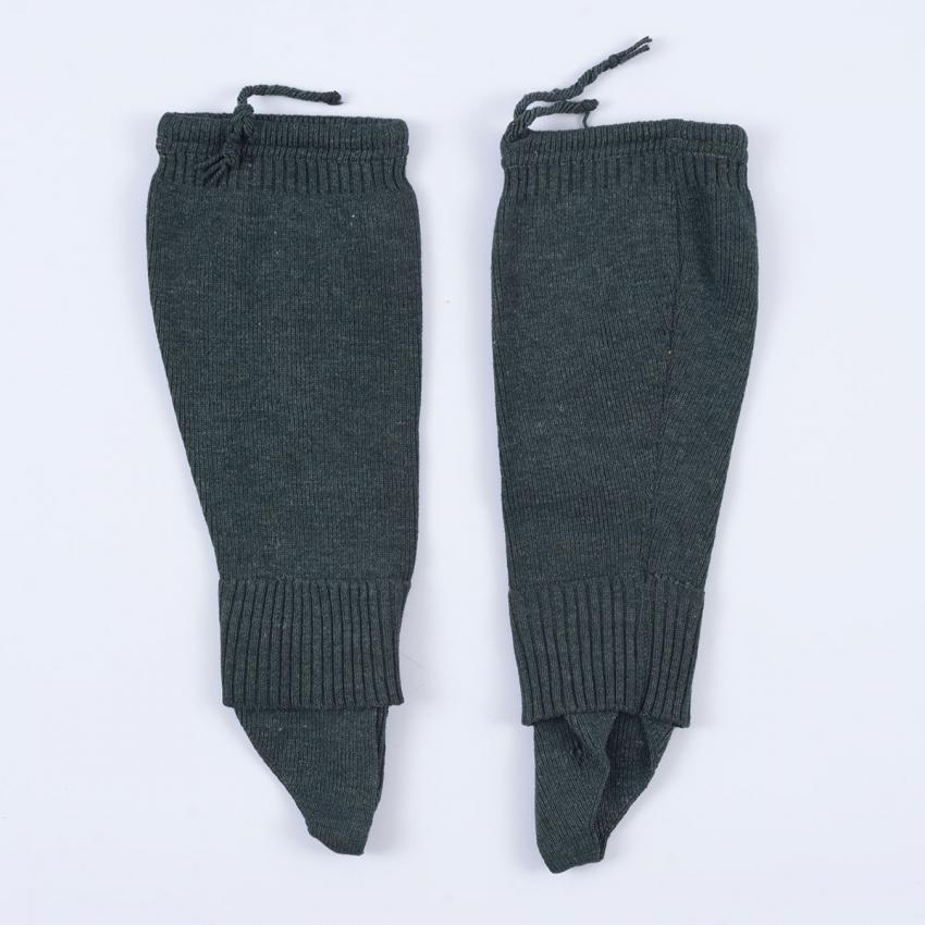 Leg-warmers from a German soldier's kitbag that Mashiach Cohen took after he was liberated at the Bergen-Belsen camp