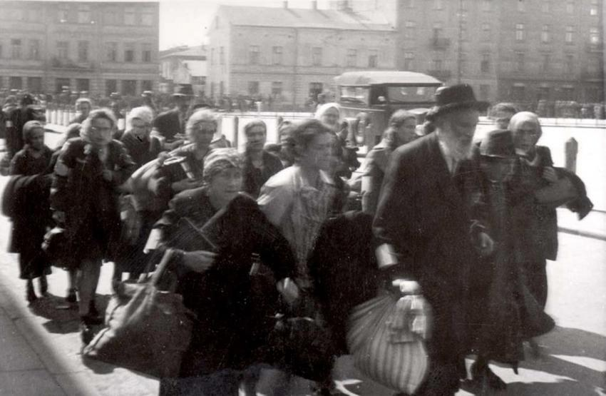 Deportation of Jews from the Krakow Ghetto, Poland, March 1943
