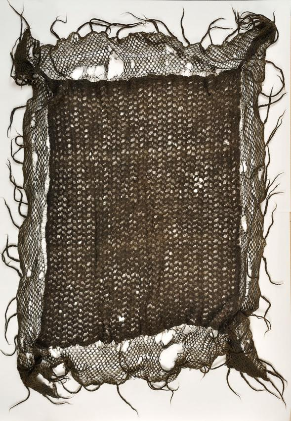 Woolen shawl that kept baby Miriam warm when her family hid in the woods