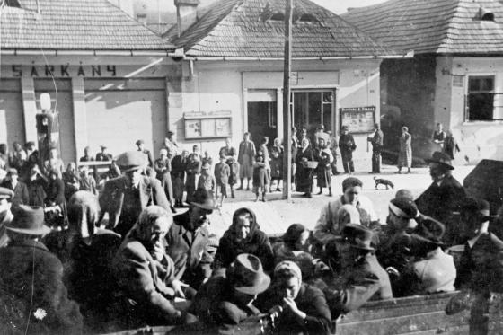 Deportation of Jews from Dobsina, Slovakia, to Auschwitz, July 23, 1942